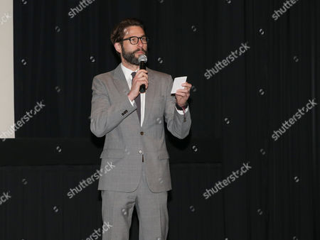 """TWC RADiUS Co President Jason Janego introduces the """"Adult Beginners"""" LA Premiere, In Partnership with Wood & Vine at Arclight Cinemas on in Los Angeles"""