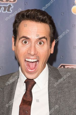 """Stock Image of Oz Pearlman attends the """"America's Got Talent"""" finale post-show red carpet at Radio City Music Hall on Wednesday, Sept. 16, in New York"""
