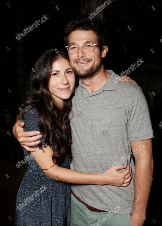 """Band of Outsider's Nicole Cari and husband Jacob Soboroff attend the """"Celeste and Jesse Forever"""" Band of Outsiders screening at The Silent Theater, in Los Angeles"""