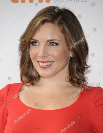 """Stock Image of Actress June Raphael attends the """"Imogene"""" premiere during the Toronto International Film Festival on in Toronto"""