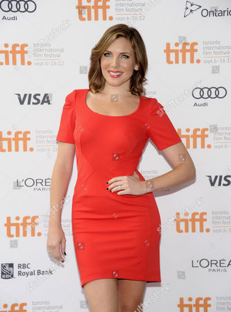 """Stock Photo of Actress June Raphael attends the """"Imogene"""" premiere during the Toronto International Film Festival on in Toronto"""