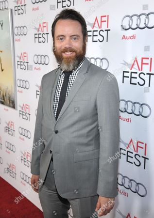 """Jonathan C. Daly arrives at the AFI Fest premiere of """"The Secret Life of Walter Mitty"""" at the TCL Chinese Theatre, in Los Angeles"""