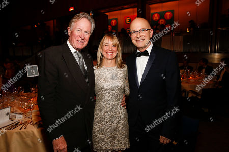IMAGE DISTRIBUTED FOR JAMES BEARD FOUNDATION - Jeremiah Tower, Emily Luchetti, and White house Pastry Chef Bill Yosses seen at the 2014 James Beard Foundation Gala: Celebrating Charlie Trotter and the New American Cuisine at the Four Seasons Restaurant, on in New York