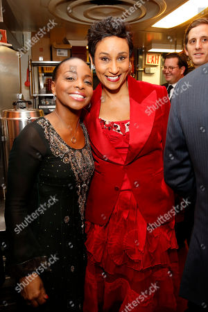 Stock Photo of Rochelle Smith Trotter and Desiree Rogers seen at the 2014 James Beard Foundation Gala: Celebrating Charlie Trotter and the New American Cuisine at the Four Seasons Restaurant, on in New York