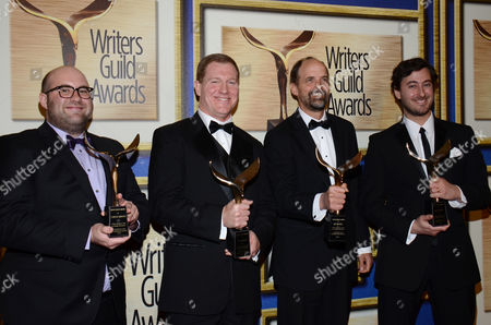 Editorial photo of 2014 Writers Guild Awards - Press Room, Los Angeles, USA