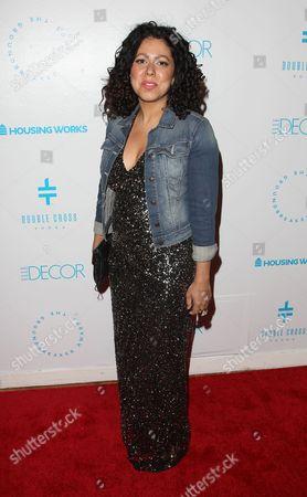 Designer Evette Rios attends the Housing Works Groundbreaker Awards at The Metropolitan Pavilion, in New York