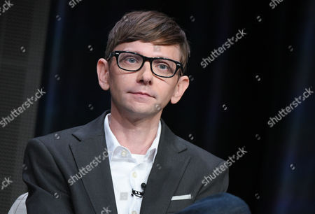"DJ Qualls participates in ""The Man in the High Castle"" panel at the Amazon Summer TCA Tour at the Beverly Hilton Hotel, in Beverly Hills, Calif"