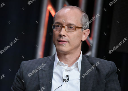 "Producer David W. Zucker participates in ""The Man in the High Castle"" panel at the Amazon Summer TCA Tour at the Beverly Hilton Hotel, in Beverly Hills, Calif"