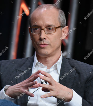 "Stock Image of Producer David W. Zucker participates in ""The Man in the High Castle"" panel at the Amazon Summer TCA Tour at the Beverly Hilton Hotel, in Beverly Hills, Calif"