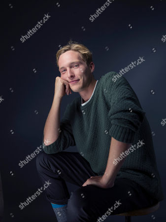 "Sean Keenan poses for a portrait to promote the film, ""Strangerland"", at the Eddie Bauer Adventure House during the Sundance Film Festival, in Park City, Utah"