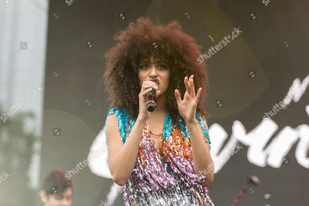 "Gavin Turek performs at the ""LA Pride Festival and Parade"" event at the West Hollywood Park, in Los Angeles"