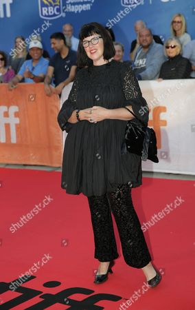 "Stock Image of Director Katherine Dieckmann attends the ""Strange Weatherâ?? premiere on day 9 of the Toronto International Film Festival at the Roy Thomson Hall, in Toronto"