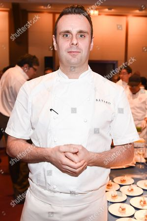 Stock Picture of Chef Markus Glocker of Batard attends the 25th Anniversary Benefit for Careers through Culinary Arts Program (C-CAP) at Pier Sixty, in New York