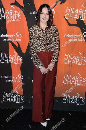 Jen Kirkman attends the 5th Annual Hilarity for Charity Variety Show: Seth Rogen's Halloween, in Los Angeles