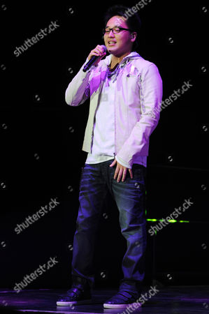 Stock Picture of AUGUST 03: Heejun Han performs during American Idols Live at BankAtlantic Center on in Sunrise, Florida