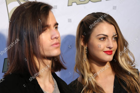 Anthony De La Torre and Trew Mullen attend the ASCAP Presents The 2015 Grammy Nominees Brunch on at the SLS Hotel Beverly Hills in Beverly Hills, Calif
