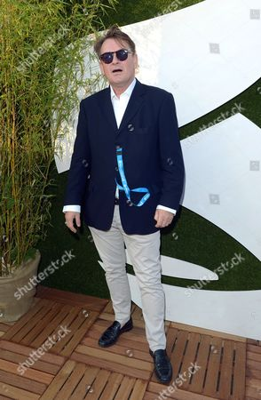 Cathal Smyth AKA Chas Smash in the VIP Lounge at Barclaycard presents British Summer Time in Hyde Park, London, on