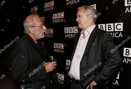 Tom Fontana and BBC America America President Herb Scannell attend the BBC America TCA Party at Cafe La Boheme on in Los Angeles, California