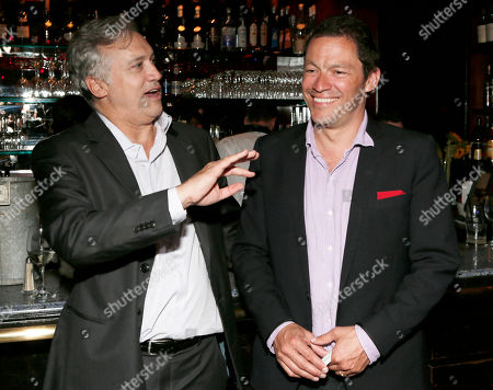 BBC America America President Herb Scannell and Dominic West attend the BBC America TCA Party at Cafe La Boheme on in Los Angeles, California