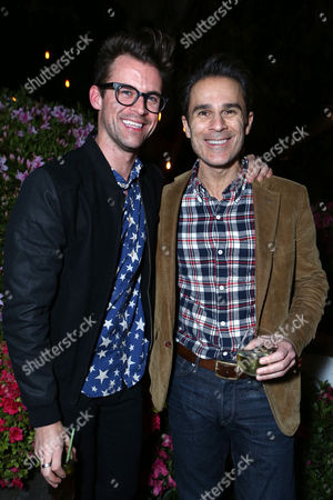 Editorial photo of Brad Goreski dinner at Levi's Haus for It's a Brad Brad World, Los Angeles, USA