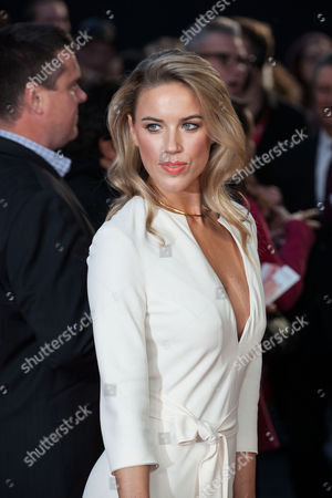 Stock Photo of Actress Alexandra Weaver poses for photographers upon arrival at the Premiere of the film High-Rise, showing as part of the London Film Festival, in central London