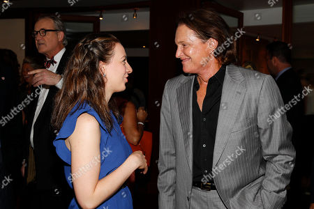 Sarah Hughes and Bruce Jenner arrives at the Annual Charity Day hosted by Cantor Fitzgerald and BGC Partners,, in New York