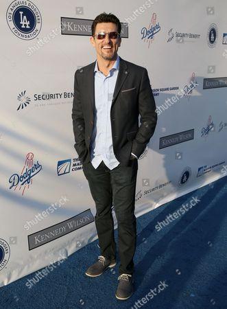 Former MLB player Nomar Garciaparra of the Los Angeles Dodgers attends the Los Angeles Dodgers Foundation Blue Diamond Gala at Dodgers Stadium, in Los Angeles