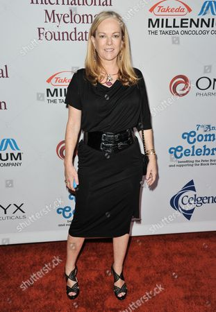 Stock Picture of Anne Hearst arrives at the International Myeloma Foundation 7th Annual Comedy Celebration at The Wilshire Ebell Theatre on in Los Angeles