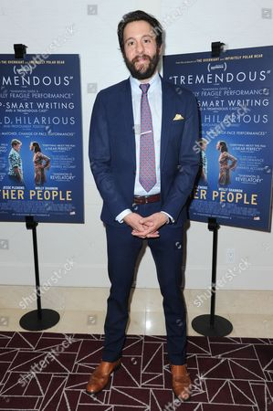 "Jonathan Kite attends the LA premiere of ""Other People"" held at The London Hotel, in West Hollywood, Calif"