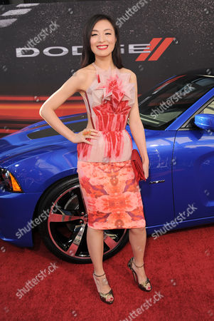 """Sarah Li arrives at the LA Premiere of the """"Fast & Furious 6"""" at the Gibson Amphitheatre on in Universal City, Calif"""