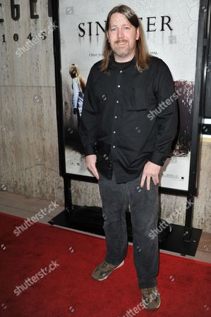 """Stock Photo of C. Robert Cargill attends the LA screening of """"Sinister"""" at Landmarks Theatres Regent, in Los Angeles"""