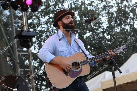 Drew Holcomb and the Neighbors performs on day 2 of Lauderdale Live at Huizenga Plaza on in Fort Lauderdale Florida