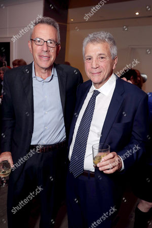 "Producer Tom Rosenberg and Writer John Romano seen at Lionsgate Los Angeles Special Screening of ""American Pastoral"" after party at Samuel Goldwyn Theater, in Beverly Hills, CA"