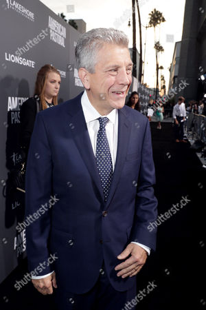 "Writer John Romano seen at Lionsgate Los Angeles Special Screening of ""American Pastoral"" at Samuel Goldwyn Theater, in Beverly Hills, CA"