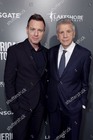 "Director/Actor Ewan McGregor and Writer John Romano seen at Lionsgate Los Angeles Special Screening of ""American Pastoral"" at Samuel Goldwyn Theater, in Beverly Hills, CA"