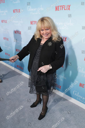 """Sally Struthers seen at Netflix's """"Gilmore Girls: A Year in the Life"""" Premiere, in Los Angeles, CA"""