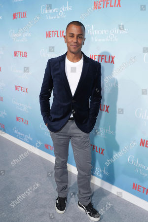 """Yanic Truesdale seen at Netflix's """"Gilmore Girls: A Year in the Life"""" Premiere, in Los Angeles, CA"""