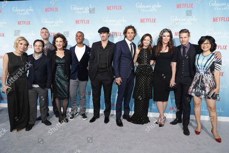 "Editorial photo of Netflix's ""Gilmore Girls: A Year in the Life"" Premiere, Westwood, USA"