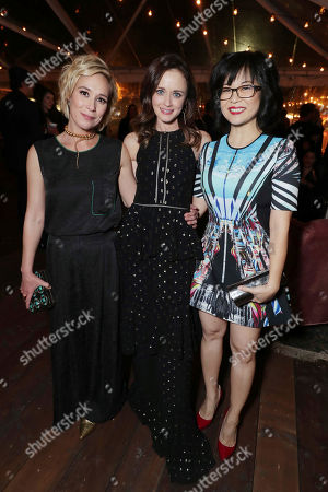 """Liza Weil, Alexis Bledel and Keiko Agena seen at Netflix's """"Gilmore Girls: A Year in the Life"""" Premiere Party, in Los Angeles, CA"""