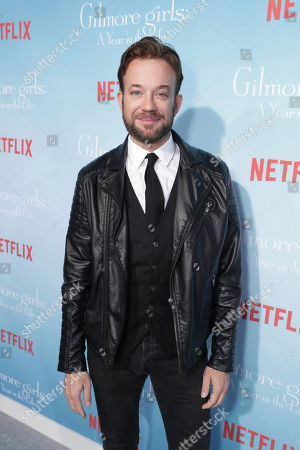 "Sam Pancake seen at Netflix's ""Gilmore Girls: A Year in the Life"" Premiere, in Los Angeles, CA"