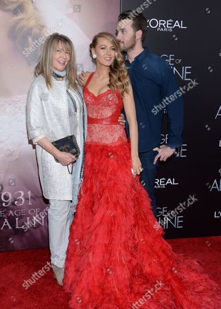 "Editorial picture of NY Premiere of ""The Age of Adaline"", New York, USA"
