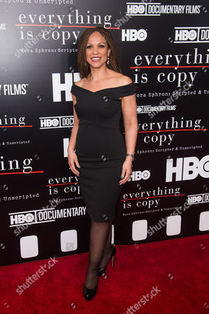"""Melissa Harris-Perry attends a special screening of """"Everything Is Copy"""" at The Museum of Modern Art, in New York"""
