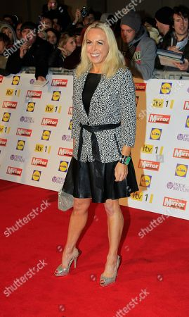 Jane Torvill arrives for the Pride of Britain Awards in Grosvenor Hotel, central London, which celebrate heroism and bravery