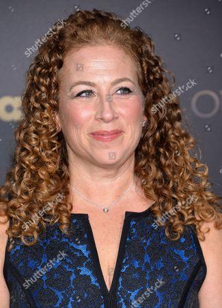 "Author Jodi Picoult attends the STARZ mid-season premiere of ""Outlander"" at the Ziegfeld Theatre, in New York"