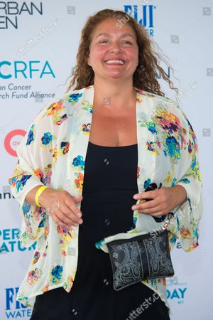 """Aida Turturro attends the Ovarian Cancer Research Fund Alliance's (OCRFA) 19th annual """"Super Saturday"""" garage sale benefit at Nova's Ark Project in Water Mill, in New York"""