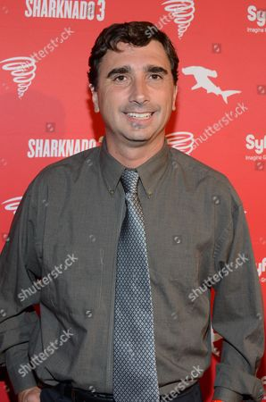 Anthony C. Ferrante arrives at Syfy's Sharknado 3 Party at Hotel Solamar on in San Diego, Calif