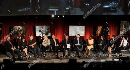 "Editorial photo of Television Academy Presents ""An Evening With The Walking Dead"" - Panel, North Hollywood, USA"