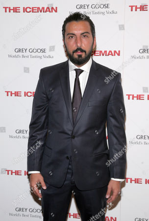 "Actor Danny Abeckaser attends a special screening of ""The Iceman"" hosted by Grey Goose Vodka on Monday April, 29, 2013 in New York"