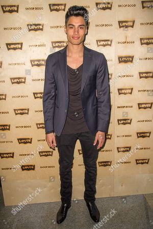 Siva Kaneswaran attends the Levi's Pre-Grammy Party With Snoop Dogg at The Hollywood Palladium, in Los Angeles