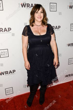 Danielle Brisebois arrives at The Wrap's 6th Annual Pre-Oscar Event held at the District Restaurant, in Los Angeles